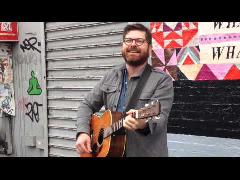 'The Crane Wife' -- Colin Meloy (the Decemberists) Busking In Brooklyn