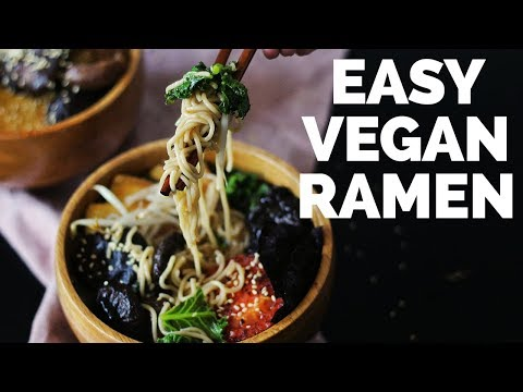 Easy Vegan Ramen | Two Market Girls