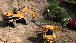 RC CONSTRUCTION SITE, WORK IN THE RC MINE, RC HEAVY MACHINERY RC, RC TRUCKS