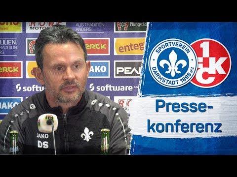 Darmstadt 98   Pressekonferenz D98-FCK