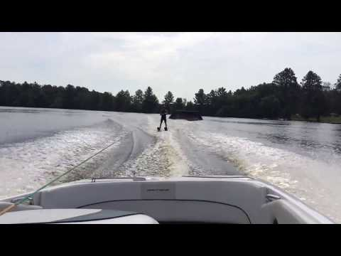 Waterski Jumping progression to my first ride over