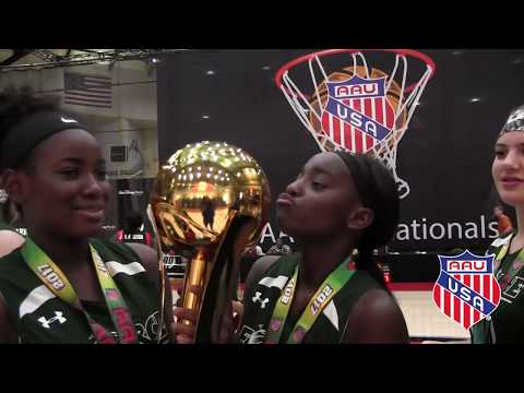 AAU Girls Basketball Recap