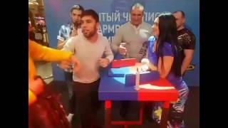 Ирина Гладкая - разрушительница мужского самолюбия [Instagram Армрестлеров]