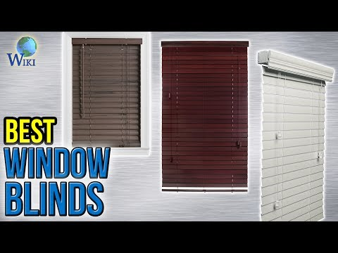 8 Best Window Blinds 2017