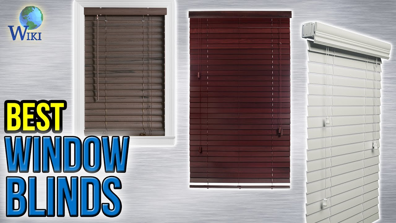 8 Best Window Blinds 2017 YouTube