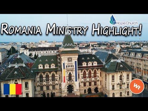 Romania Ministry With Hope Church Romania!