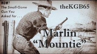 "Marlin Golden Model 39A ""Mountie"" Lever .22"