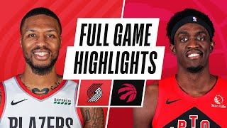 BLAZERS at RAPTORS | FULL GAME HIGHLIGHTS | March 28, 2021