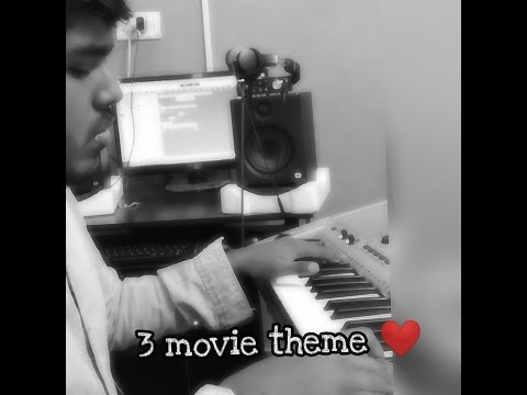 A life full of love - 3 Movie piano cover ! |Adithya Sriram |