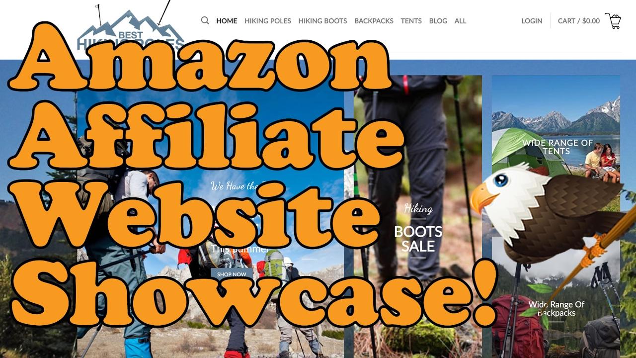 Amazon Affiliate Website SHOWCASE with Earnings Feb 2017