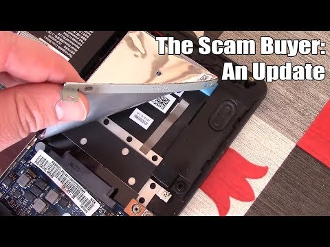 "An Update On The ""Scam Laptop Buyer"" Situation"