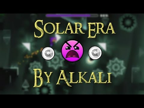 Solar Era By Alkali & more (2 Coins) [Geometry Dash 2.1]
