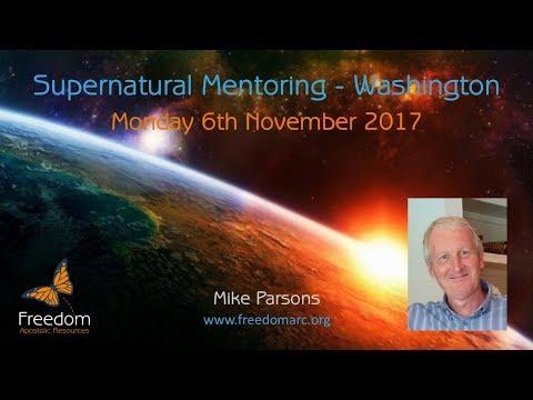 Supernatural Mentoring Monday 6th November 2017 Washington