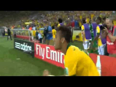 Marcelo Own Goal ~ Brazil vs Croatia 0-1 12/06/2014 World Cup 2014
