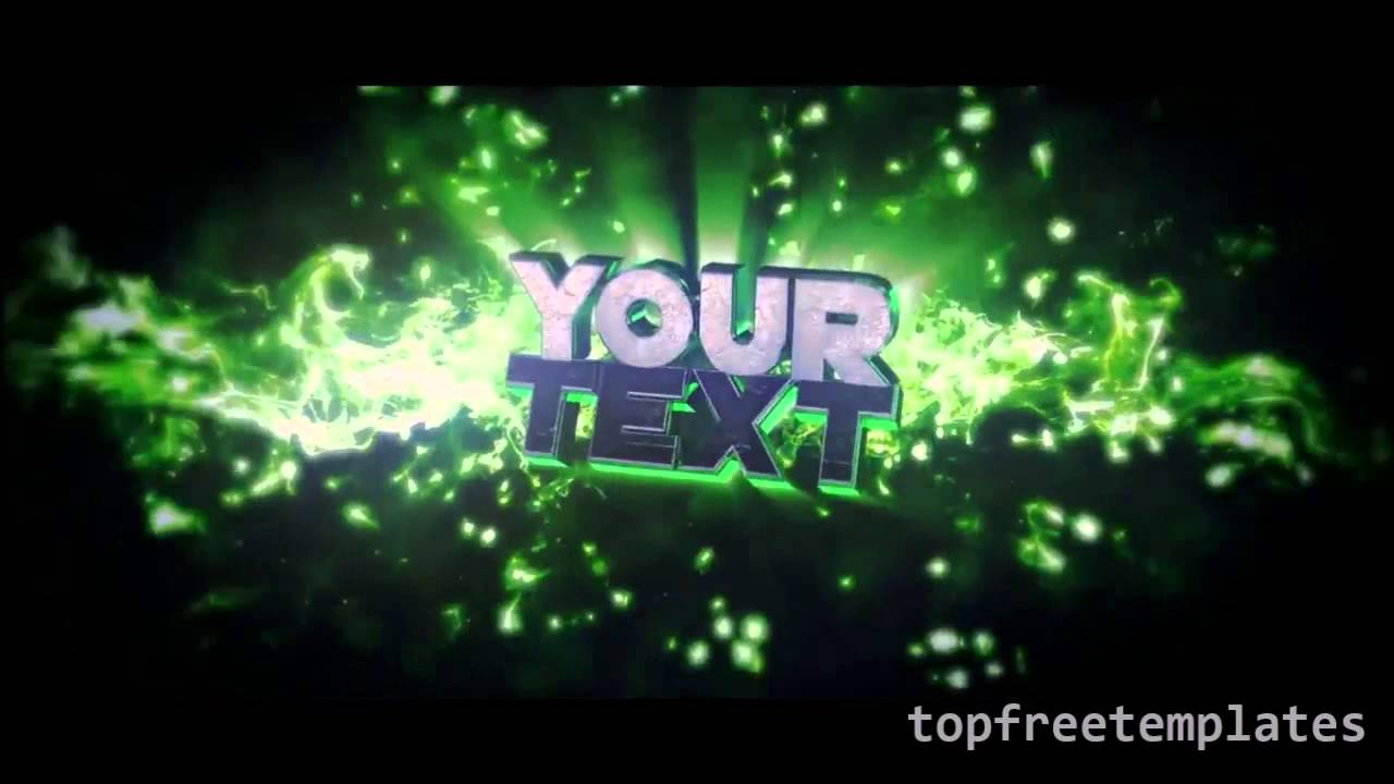 Minecraft intro template no text new cinema 4d template free fresh.
