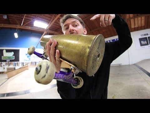 THE BULLET SKATEBOARD?!?!? | YOU MAKE IT WE SKATE IT EP. 193