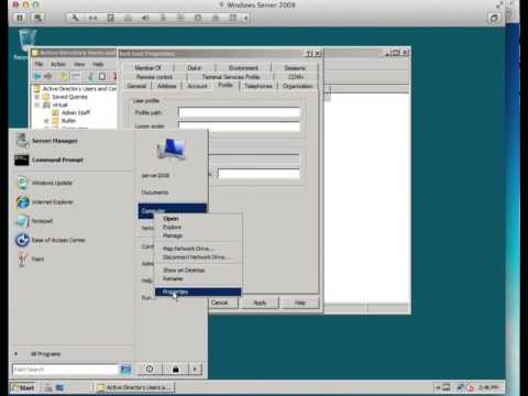 How To Create Users And Shares In Windows Server 2008