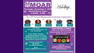 MOAR's 15th Annual Holiday Celebration
