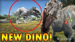 ark survival evolved indominus rex mod new dino review