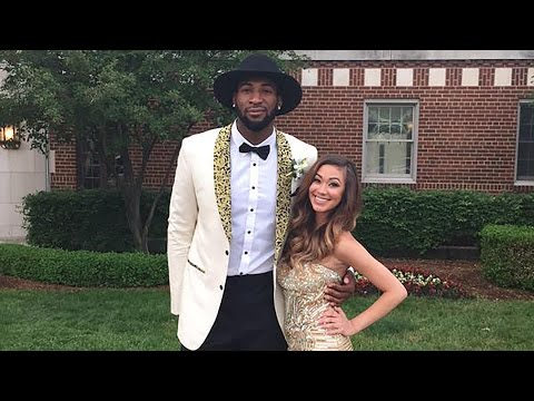 Beautiful High Schooler Takes Andre Drummond to Prom