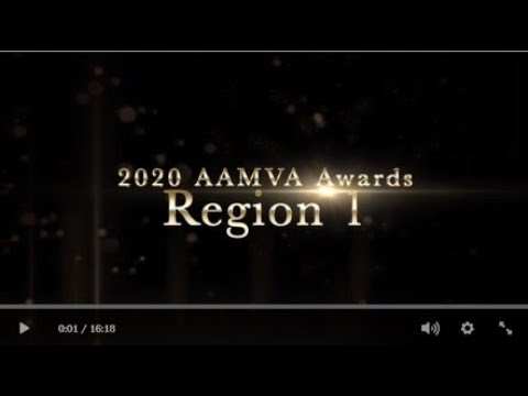 2020 AAMVA Awards - Region 1