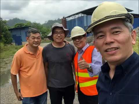 Visit to gold mine of Anchor Resources in Terengganu
