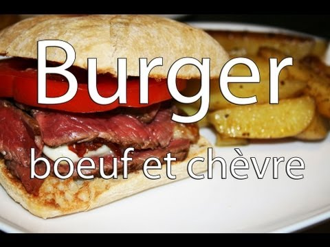 burger-au-boeuf,-chèvre-rôti-au-miel-et-pignons-torréfiés-🇺🇸🍔