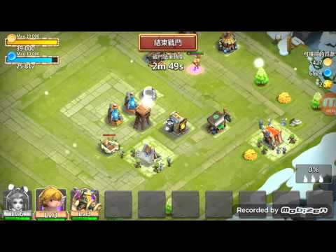 Castle Clash New Hero Candy Cane In Action!!!!