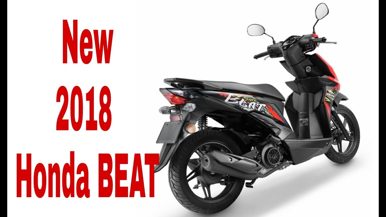 new 2018 honda beat new upcoming scooter in 2018 youtube. Black Bedroom Furniture Sets. Home Design Ideas