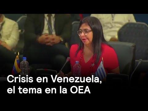 Crisis en Venezuela, el tema en la OEA
