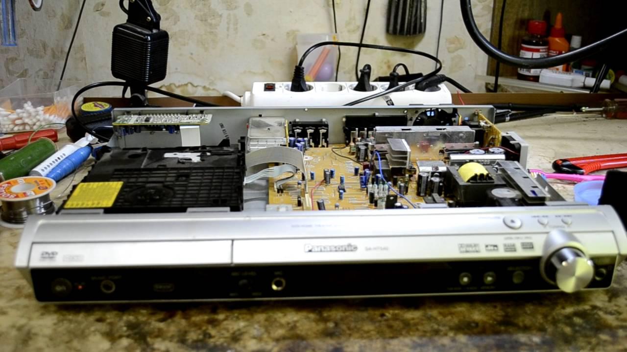 e35d01c97 Panasonic SA-HT540 ошибка F61 - YouTube