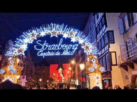 Strasbourg France, Christmas Market 2018