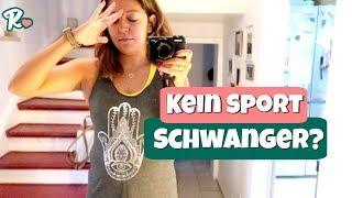 2 Monate kein Sport, weil Schwanger  Vlog#1042 Rosislife