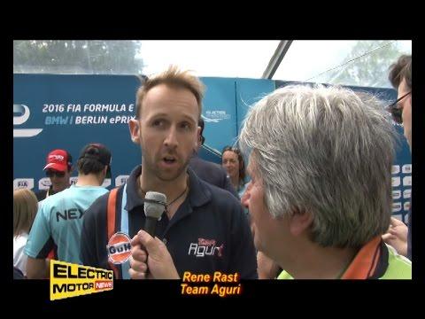 Rene Rast debutta in Formula E al posto di Da Costa - Electric Motor News in Formula E a Berlino