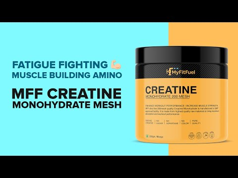 MyFitFuel Creatine Monohydrate [Mesh] | High Grade | Easy absorbing | Lean Muscle Growth Pure Amino