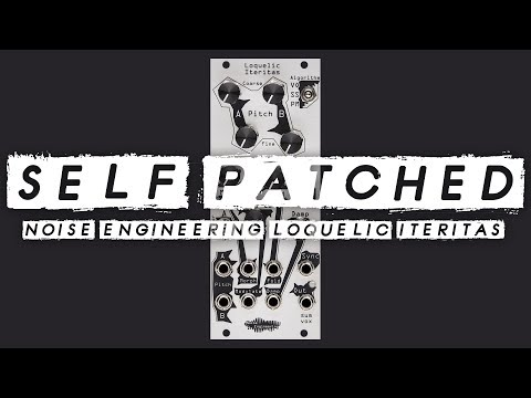SELF PATCHED! Noise Engineering Loquelic Iteritas // Harsh noise generator!