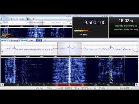 23 09 2017 Trans World Radio Africa in English to EaAf 1802 on 9500 Manzini