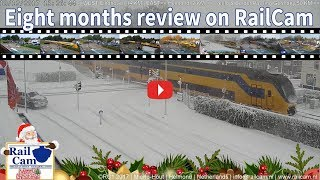 Eight Months Review with Highlights on RailCam #36