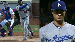 8/4/17: Darvish dazzles in debut, Dodgers win 6-0