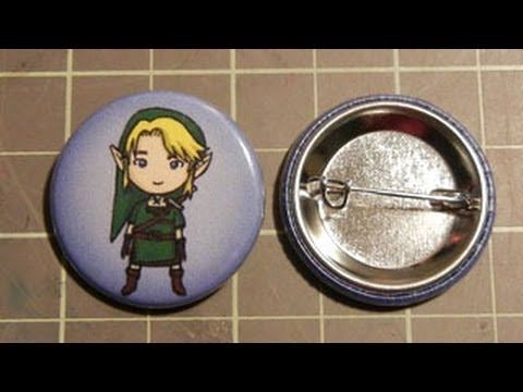 How to Make Buttons (Badges)
