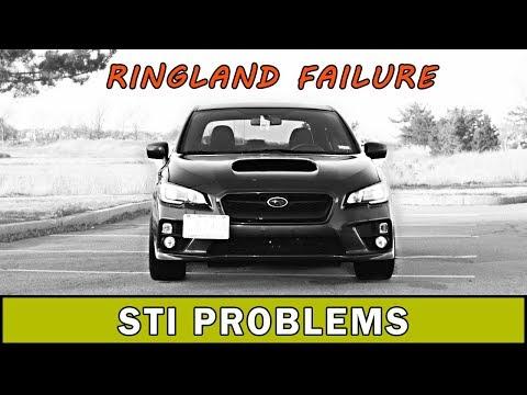 Common Problems with the Subaru WRX STI | Ringland Failure | WRX VLOG 54