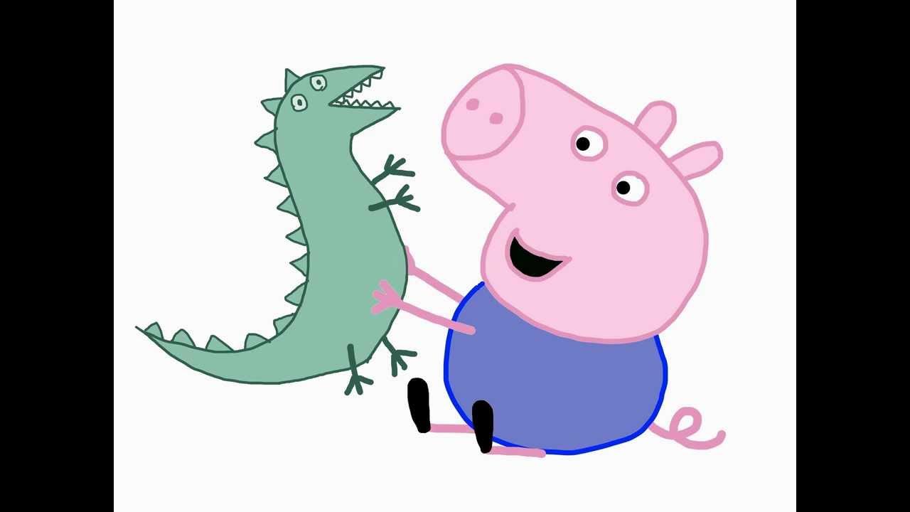 Gallery For gt Peppa Pig George Dinosaur