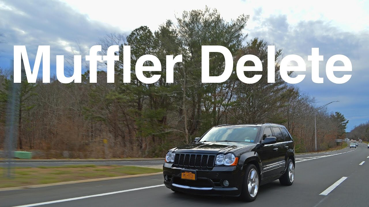 Jeep Grand Cherokee Srt8 Muffler Delete Youtube