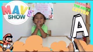 LEARNING THE ABCS   TODDLER HOMESCHOOL   KIDS NURSERY SONGS