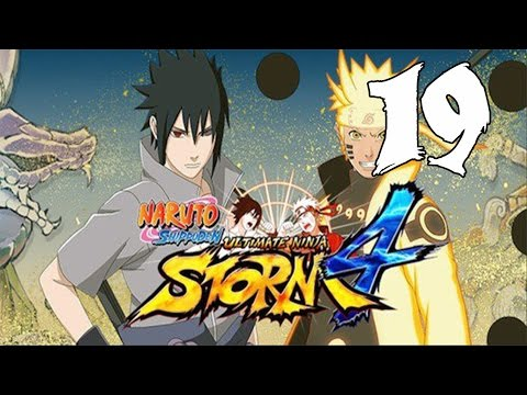 Naruto Ultimate Ninja Storm 4 - Walkthrough Part 19:  Kaguya, the Violent Goddess (Part 2)