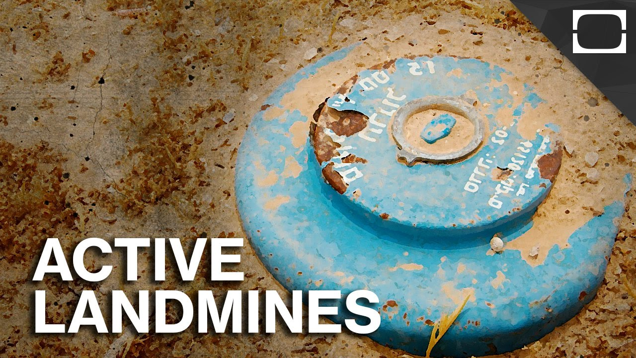 which countries still have active landmines youtube