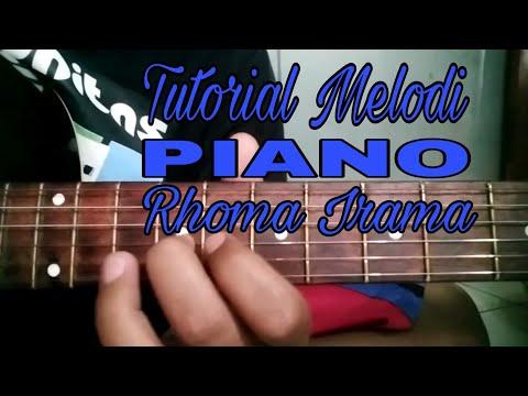 Tutorial Melodi Lagu Piano Rhoma Irama Youtube