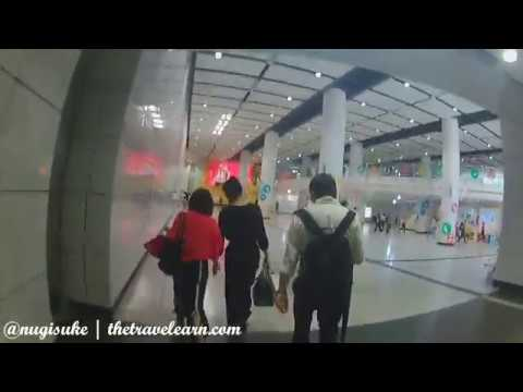 [Walking & MRT Ride] MTR From Central Hong Kong Station to Admiralty