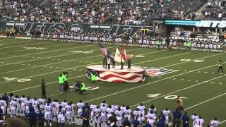 motown the musical raymond luke jr sings national anthem colt vs jets