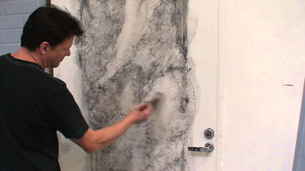 Marble Wall Paint : White marble imitation painting part youtube